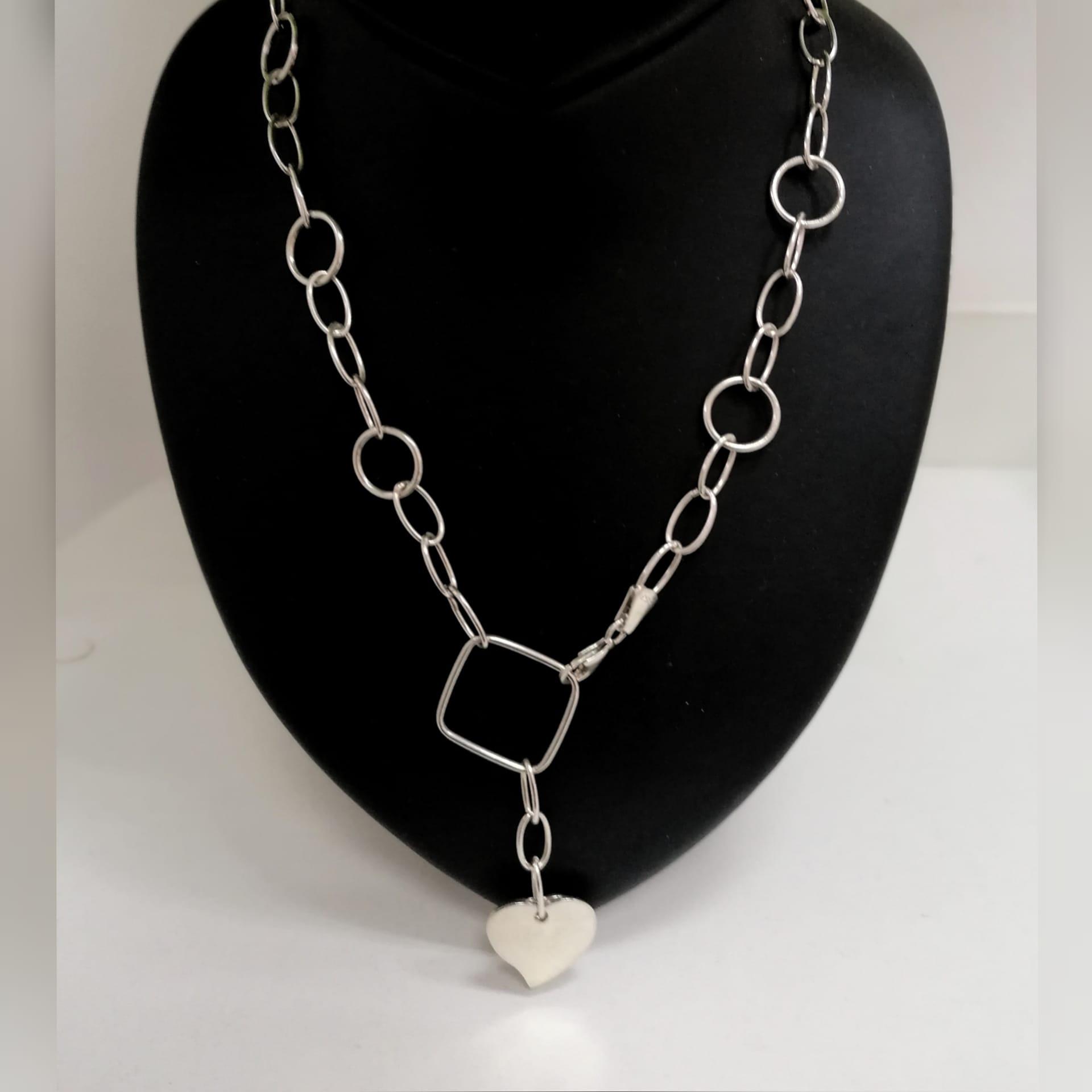 Srebrna ogrlica 031701