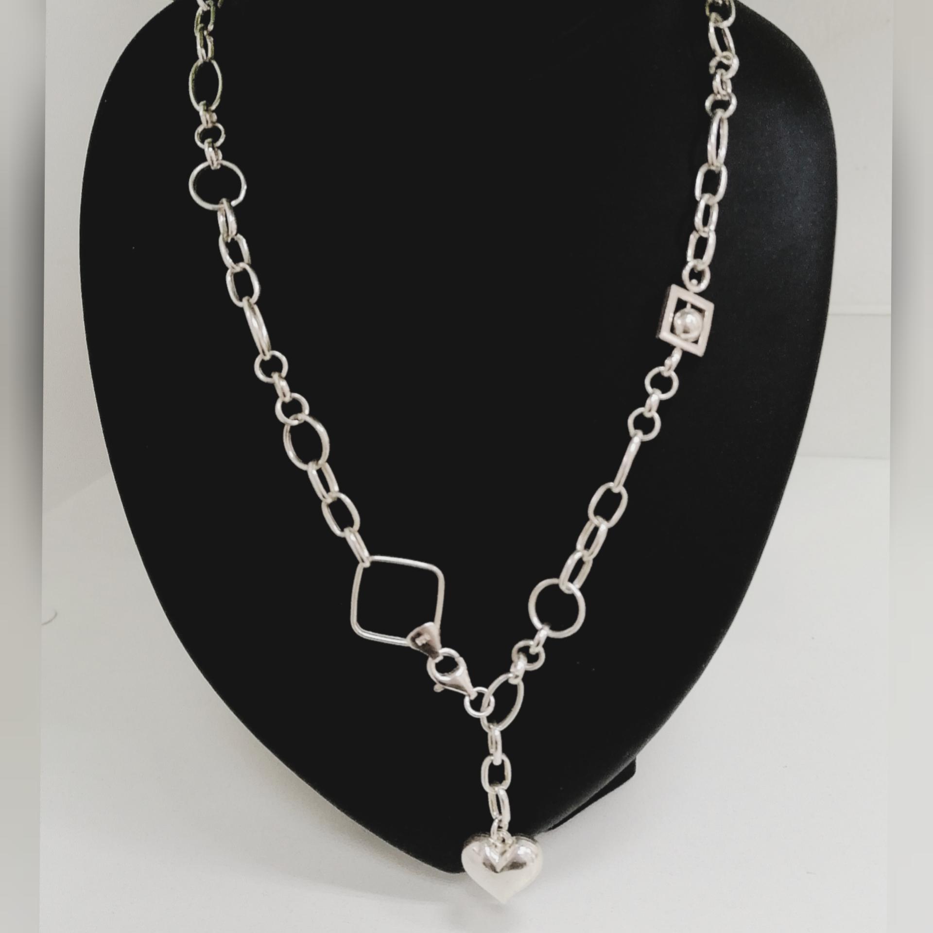 Srebrna ogrlica 031702
