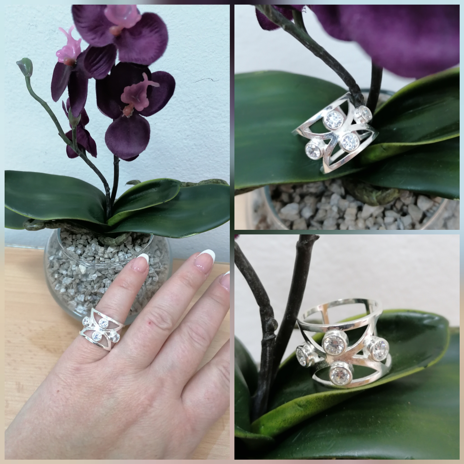 4 Srebrni prsten 500